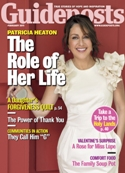 "Patricia Heaton ""Guideposts"" cover"