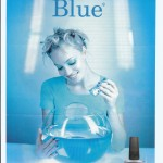 "CREATIVE NAIL POLISH National Campaign ""Blue"""