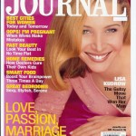 "Lisa Kudrow ""Ladies Home Journal"" Cover"