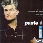 """KMS """"Paste it"""" Ad Campaign"""