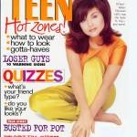 "Tiffani Thiessen ""Teen"" cover"
